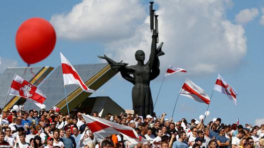 Украинский след: белорусская оппозиция опозорилась