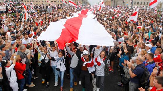 ВМинске сторонники оппозиции собираются наакцию протеста
