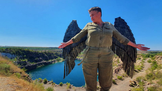Надежду Савченко упрекнули вполноте