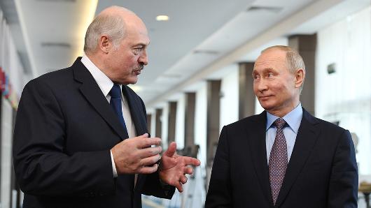 Лукашенко поблагодарил Путина запорядочность