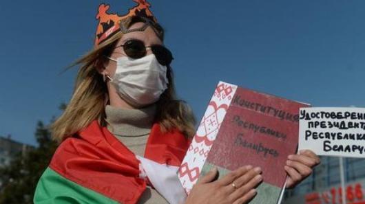 Жители Минска вышли наакции против инаугурации Лукашенко