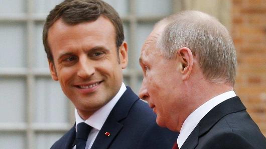 Франция расследует утечку разговора Путина иМакрона