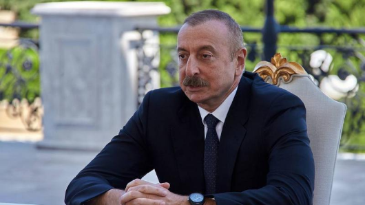Алиев выдвинул условие дляпрекращения боев вКарабахе